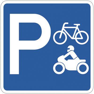 moto e bici parking